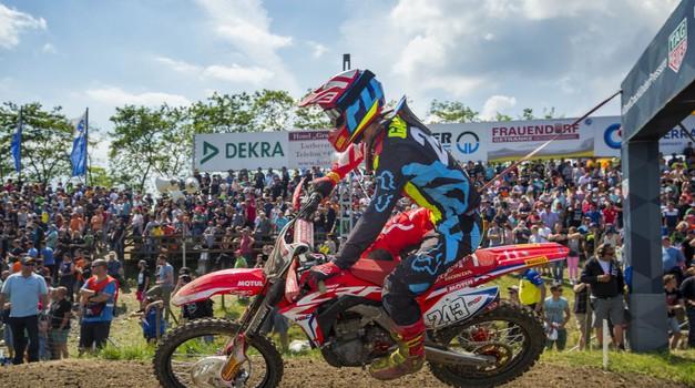 Peta dirka državnega prvenstva v motokrosu bo v Mačkovcih. Nastop Gajserja še pod vprašajem. (foto: hondaproracing.com)