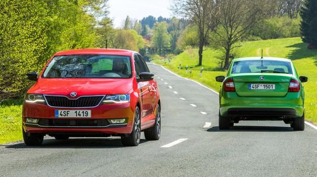 Vozili smo: Škoda Rapid po prenovi ponuja manj zunaj, več pa znotraj (foto: Škoda)