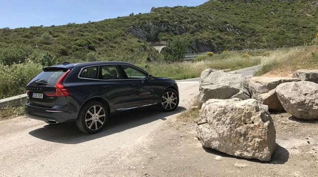 Vozili smo: Volvo XC60 zna sam zaviti mimo ovire med zaviranjem v sili (foto: Sebastjan Plevnjak)