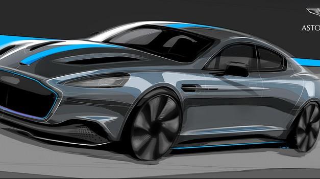 Aston Martin je potrdil serijsko izdelavo električnega Rapida, zaenkrat brez podrobnosti (foto: Aston Martin)