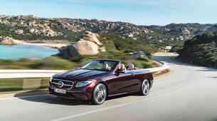 Ljubitelji klasike so zadovoljni: novi razred E Cabriolet ostaja zvest platnu
