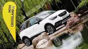 Novo v Sloveniji: Opel Crossland X zna sam poiskati parkirno mesto ali hotelsko sobo
