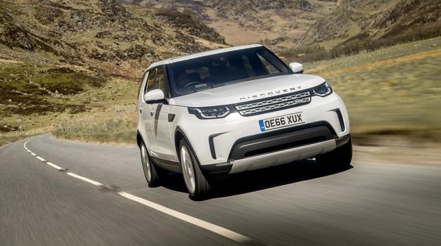 Novo v Sloveniji: (razprodani) Land Rover Discovery (foto: Jaguar Land Rover)
