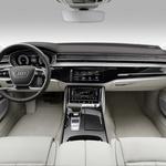 Novi Audi A8 je bil razvit z mislijo na avtonomno vožnjo (foto: Audi)