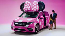 Ko se združita Disney in Honda, nastane uradno vozilo za Mini Miško