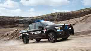 Fordova okrepitev za ameriško policijo: F-150 'Police enforcer' (video)