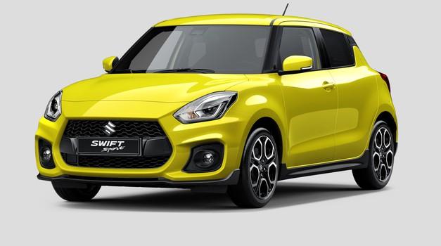Suzuki Swift Sport prihaja na avtomobilski salon v Frankfurtu (foto: Suzuki)
