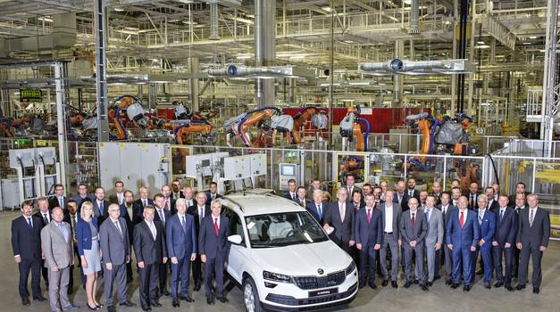 Škoda pričela s proizvodnjo modela Karoq (foto: Škoda)