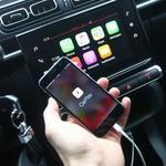Applov CarPlay deluje odlično. Še najbolj je uporaben pri preslikavanju navigacije na osrednji zaslon. (foto: Saša Kapetanovič)
