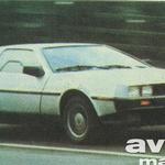 Citroën-Maserati, Saab-Fiat, Lotus-Opel – je le nekaj zanimivih avtomobilskih navez (foto: DeLorean)