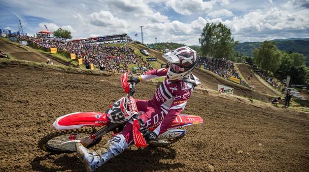 Nadaljuje se MXGP: v Lommlu od Slovencev le Gajser (foto: Hondaproracing.com)