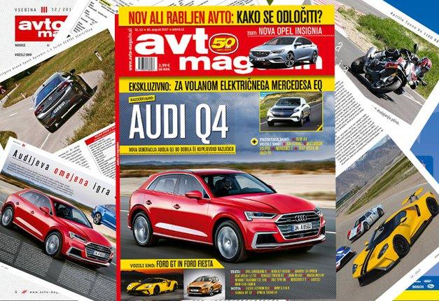 Izšel je novi Avto magazin: preberite novosti s področja avtomobilizma in motociklizma (foto: MJ)