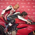 Ducati DRE ali kako je lahko vsak še hitrejši, ko nad njim bdi inštruktor (foto: Ducati)