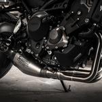 Vsekakor najboljši del tega motocikla. Ne zahteva nobenega naprezanja ali obremenjevanja s tem, katera prestava je najbolj primerna. Lahko je tudi zelo živahen, po zaslugi različnih 'mappingov' pa ga bi marsikateri začetnik označil kot brutalnega. (foto: Alessio Barbanti/Yamaha)
