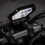 Merilniki ne predstavljajo zadnjega krika tehnike v svetu motociklizma, ponujajo pa vse potrebne informacijo. S tem ko se po zaslugi nižje prednje luči prestavili bolj naprej, pa so tudi bolj pregledni. (foto: Alessio Barbanti/Yamaha)