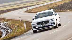 Kratki test: Volvo V90 D5 Inscription AWD A