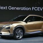 Hyundai je pripravil predogled nove generacije športnega terenca s pogonom na vodikove gorivne celice (foto: Hyundai)