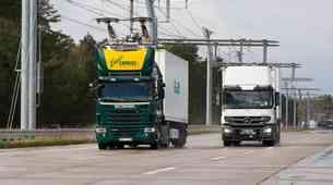 Siemens bo zgradil poskusni odsek električne avtoceste na javni cesti
