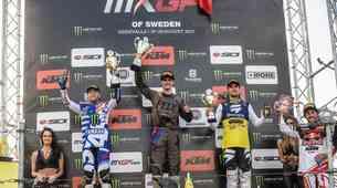 MXGP: Tim Gajser zmagal na Švedskem, naslednjo nedeljo bo dirkal v Orehovi vasi