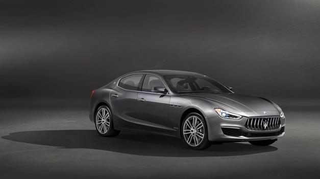 Maserati je Ghibliju namenil novo različico GranLusso (foto: Maserati)