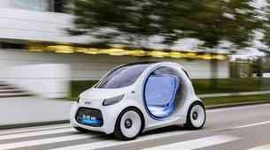 Smart s študijo Vision EQ ForTwo napoveduje delitvene sheme prihodnosti