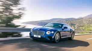 Bentley Continental GT z novo podobo in še več udobja