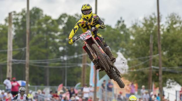 MXGP: Gajser v ZDA tik za stopničkami, zmaga Herlingsu (foto: Hondaproracing.com)