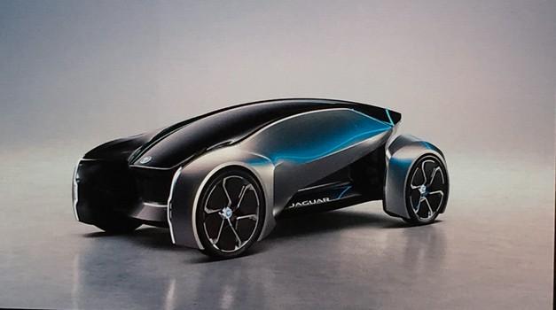 Jaguar Future-Type: Jaguar in LR le še na elektriko (foto: Dušan Lukič)