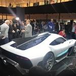 V Stuttgartu bodo izdelali 275 primerkov hiperšportnika Mercedesa-AMG Project One. (foto: Dušan Lukič)