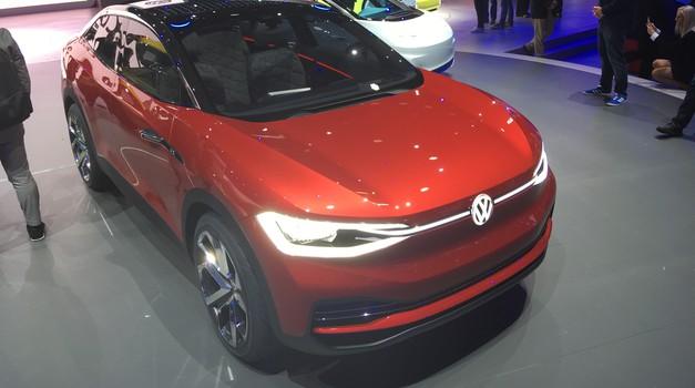 Frankfurt: električni Volkswagen I.D. Crozz bo nared do 2020 (foto: Dušan Lukič)