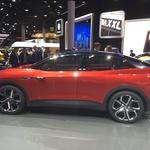 Volkswagen s študijo I.D. Crozz napreduje na poti k serijskemu električnemu avtomobilu. (foto: Dušan Lukič)