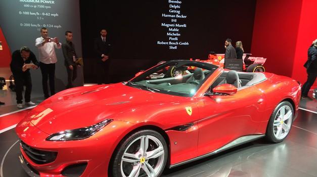 Ferrari objavil 'slovenski' promocijski video za Portofina (foto: Arhiv AM)