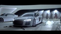 Audijevi motorji 'zaigrajo' uvodno glasbo iz Zvezdnih stez in nekaterih popularnih TV-serij