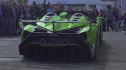 Kot v sanjah: Concours d'Elegance,  prvo srečanje Lamborghinijev v Švici (video)