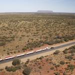 Land Rover Discovery v Avstraliji potegnil 110 ton težko kompozicijo (video) (foto: Land Rover)