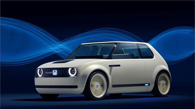 Hondin električni malček Urban EV (foto: Honda)