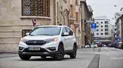 Podaljšani test: Honda CR-V 1.6i DTEC 4WD Elegance