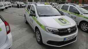 Ljubljana je dobila novo taksi službo