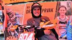 Luka Kutnar po osvojitvi naslova državnega prvaka: Veliko sem razmišljal o zaključku svoje motokrosistične kariere