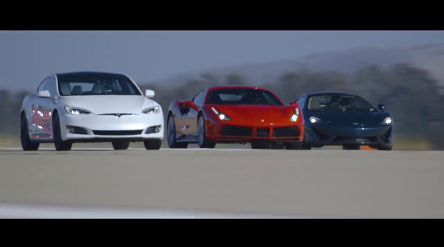 Kako je Tesla v največji tekmi pospeševanja prehitela Ferrarija, Porscheja in druge super avtomobile (foto: Motor Trend)