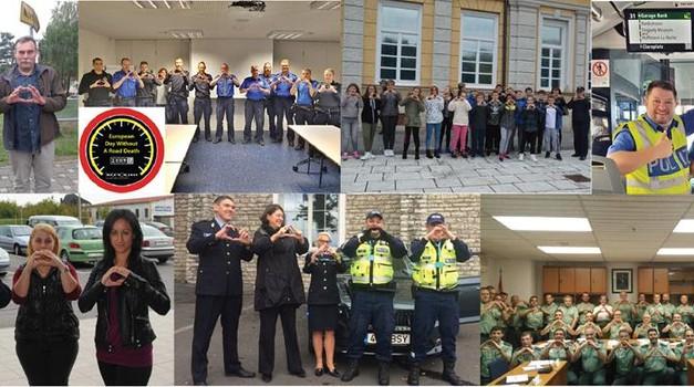 Znani so rezultati letošnje akcije 'Evropski dan brez smrtnih žrtev na cestah' – v Sloveniji uspešni (foto: Tispol)