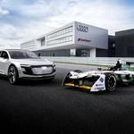 Audi je predstavil svoj prvi popolnoma električni dirkalnik (foto: Audi)