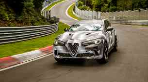 Alfa Romeo Stelvio Quadrifoglio nov najhitrejši SUV na Nürbrugringu