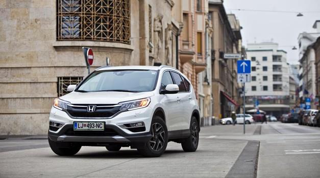 Podaljšani test: Honda CR-V 1.6 i-DTEC 4WD Elegance (foto: Saša Kapetanović)