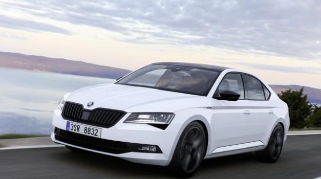Bi vas morda zanimala Škoda Superb Coupe? (foto: Škoda)