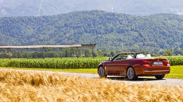 Na kratko: BMW 430i Cabrio (foto: Saša Kapetanovič)