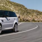 Land Rover je elektrificiral Range Rover Sport (foto: Jaguar Land Rover)
