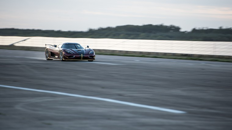 Koenigsegg Agera RS do 400 km/h in nazaj v 33,29 sekunde (foto: Koenigsegg)