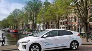 Flota 100 električnih Hyundai Ioniqov za 'car sharing'
