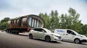 Nissan postavil rekord v vlečenju tovora med električnimi vozili